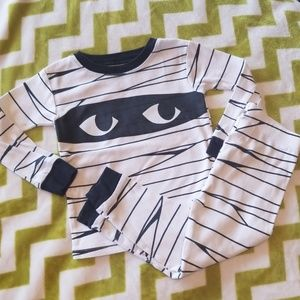 Carter's Glow-in-the-Dark Mummy Pajamas 2t